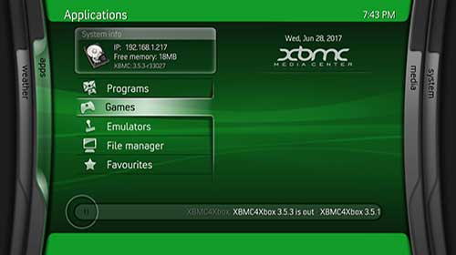 Post: add games to original xbox