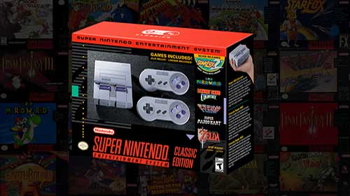 Post: the new snes classic